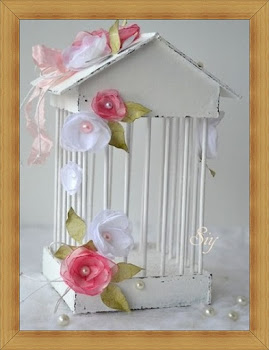 Reto - nº 032 jaula romántica decorativa