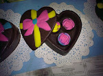 Chocolate box S size + 3pcs paraline