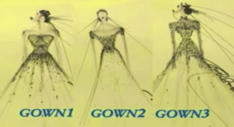 Maya's WEDDING GOWN Choices - Gown1 Gown2 or Gown3 Be Careful With My