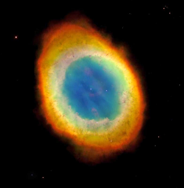 nebulosa do anel - astroiniciantes