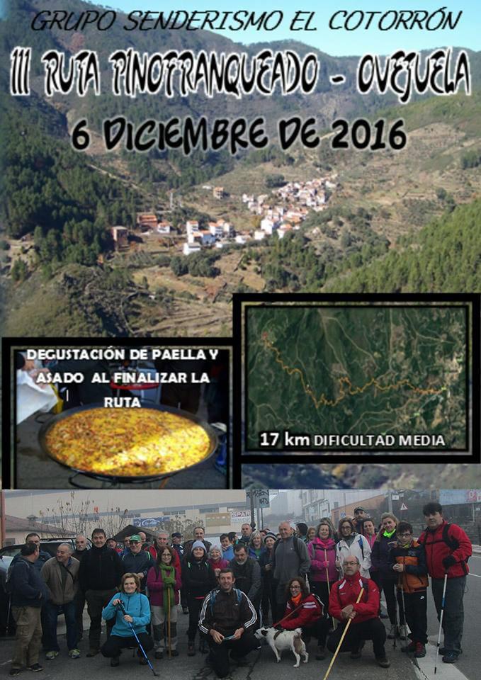 Ruta Pino Ovejuela 2016