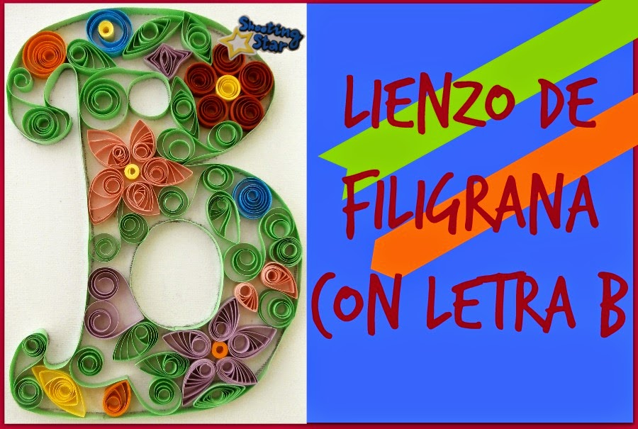 DIY lienzo filigrana
