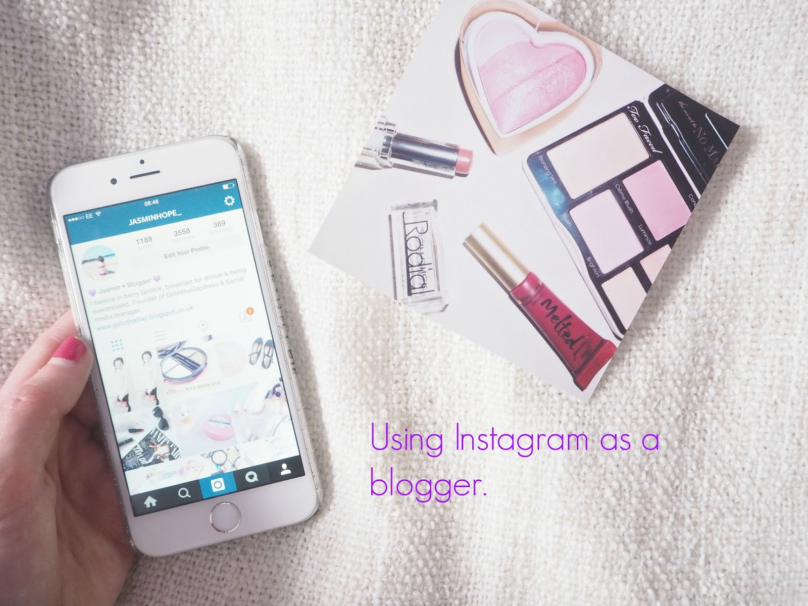 tips for instagram for bloggers