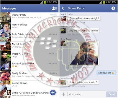 Cara Mengirim dan Menerima Pesan Facebook Tanpa Install Messenger Di Android