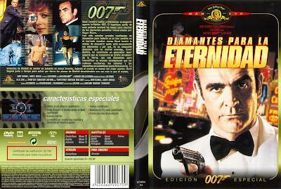 Diamantes para la eternidad 1971 | Carátula | cine clásico