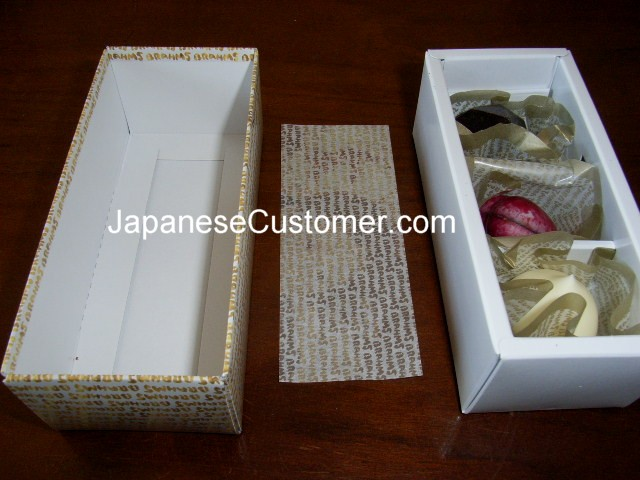 Japanese Chocolate Gift Box Copyright Peter Hanami 2014