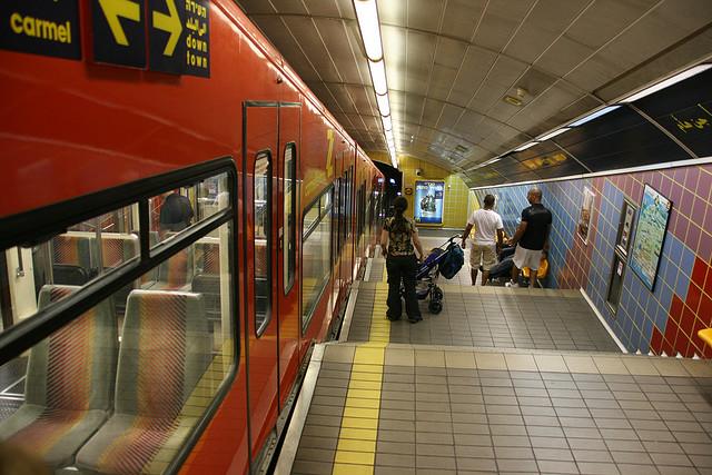 Israel tem o menor sistema de metrô do mundo