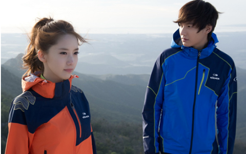 Lee Min Ho y YoonA de Girls' Generation anuncian el otoño con Eider