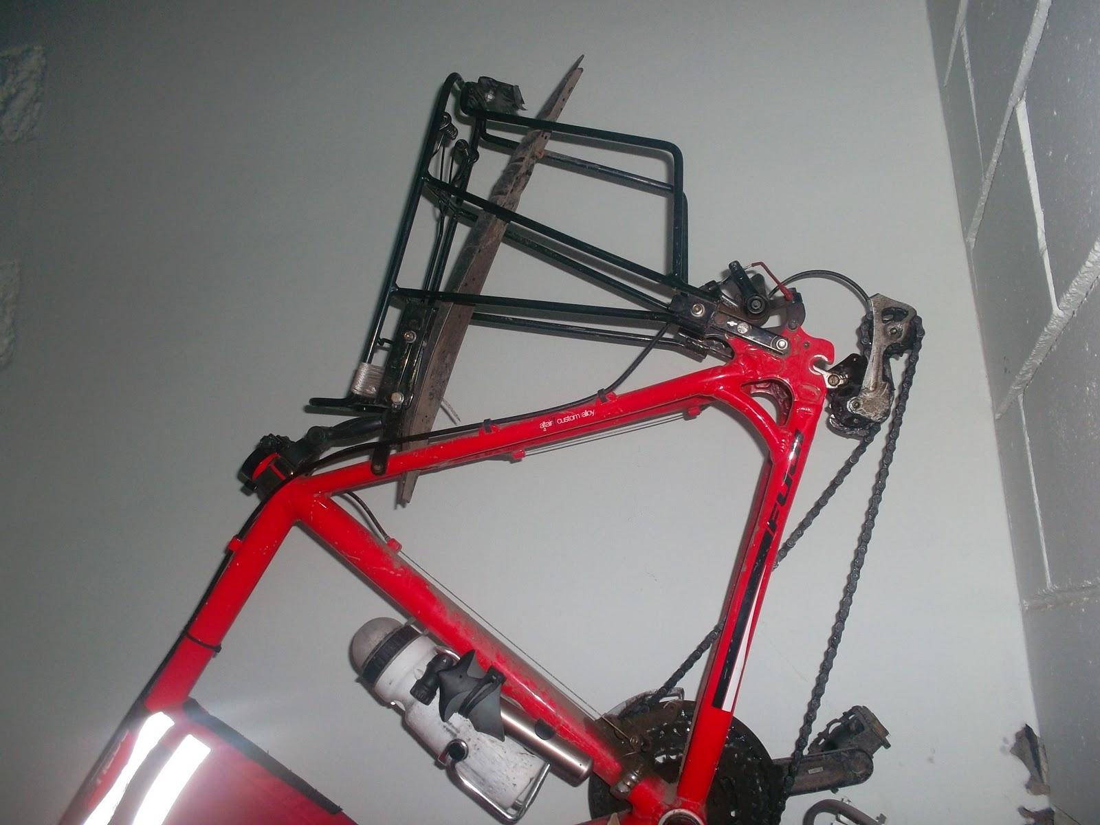 Багажник на велосипед с дисковыми тормозами своими руками