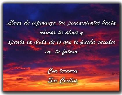 Frases de Sor Cecilia