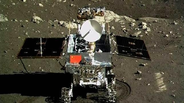 Rover Yutu en la Luna
