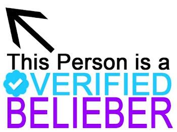 I'm a verified BELIEBER