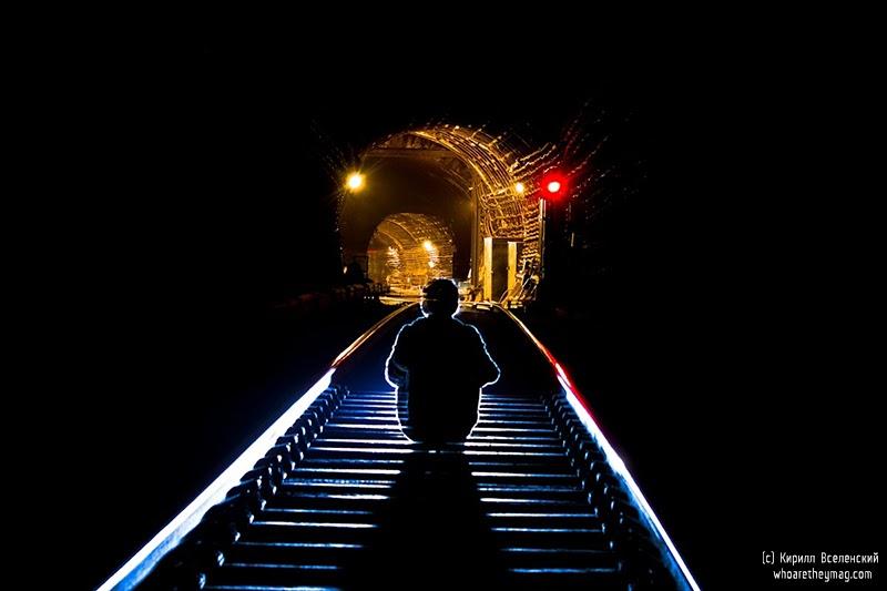 Metro underground tube subway diggers