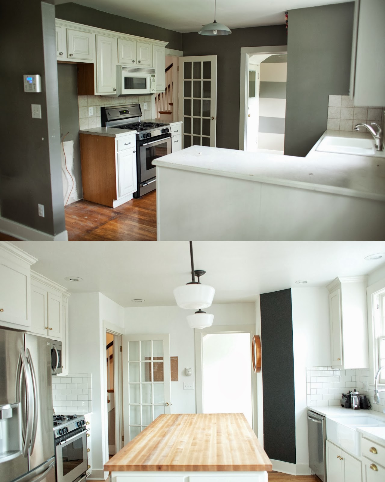 From The Nato's: Kitchen Renovation Before And After