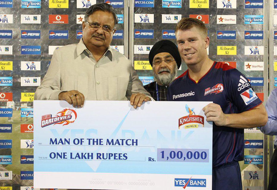 David-Warner-Man-of-the-Match-DD-vs-KKR-IPL-2013
