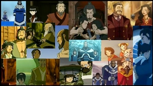 Avatar: The Last Airbender and Legend of Korra Father's Day Collage