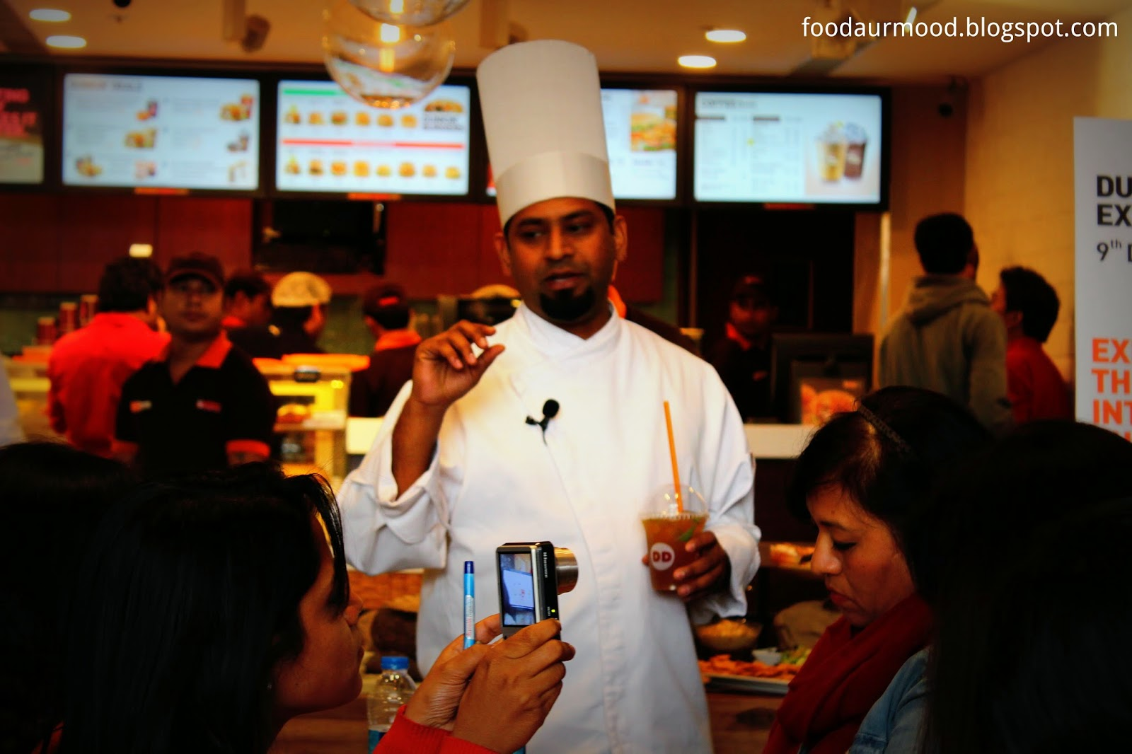 Dunkin Donuts India, Donuts, Connaught Place