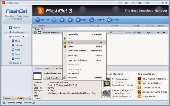 FlashGet 3.7.0  Full Setup İndir