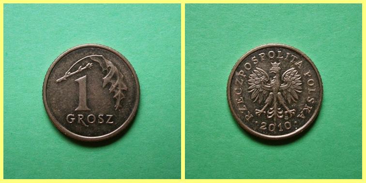 0.01 Zloty Polonia