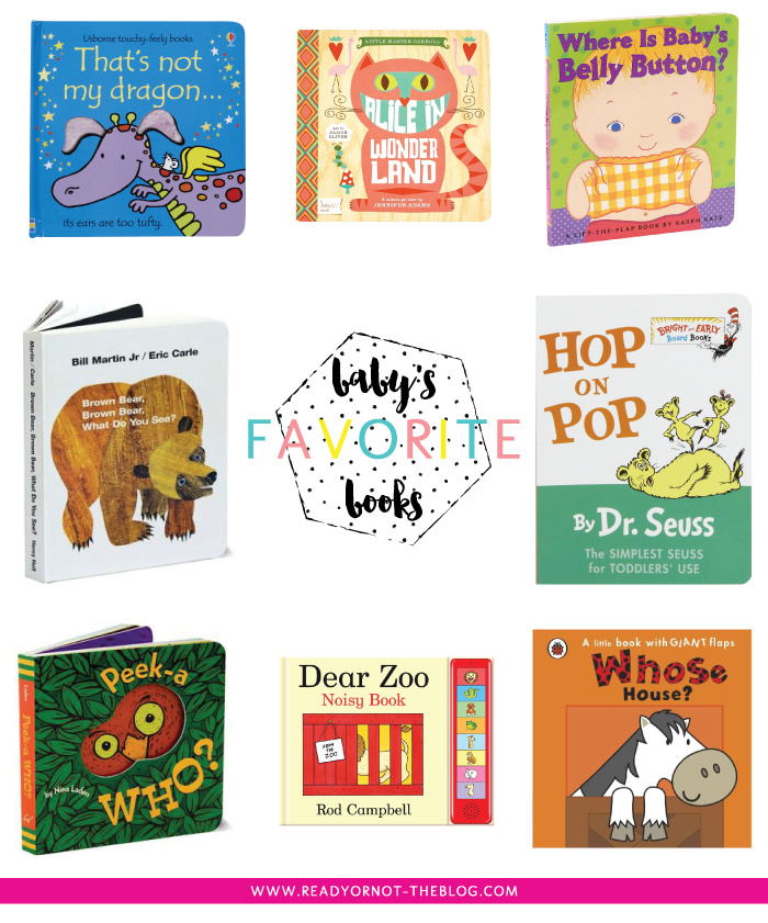 A fun list of must-have books for your baby!