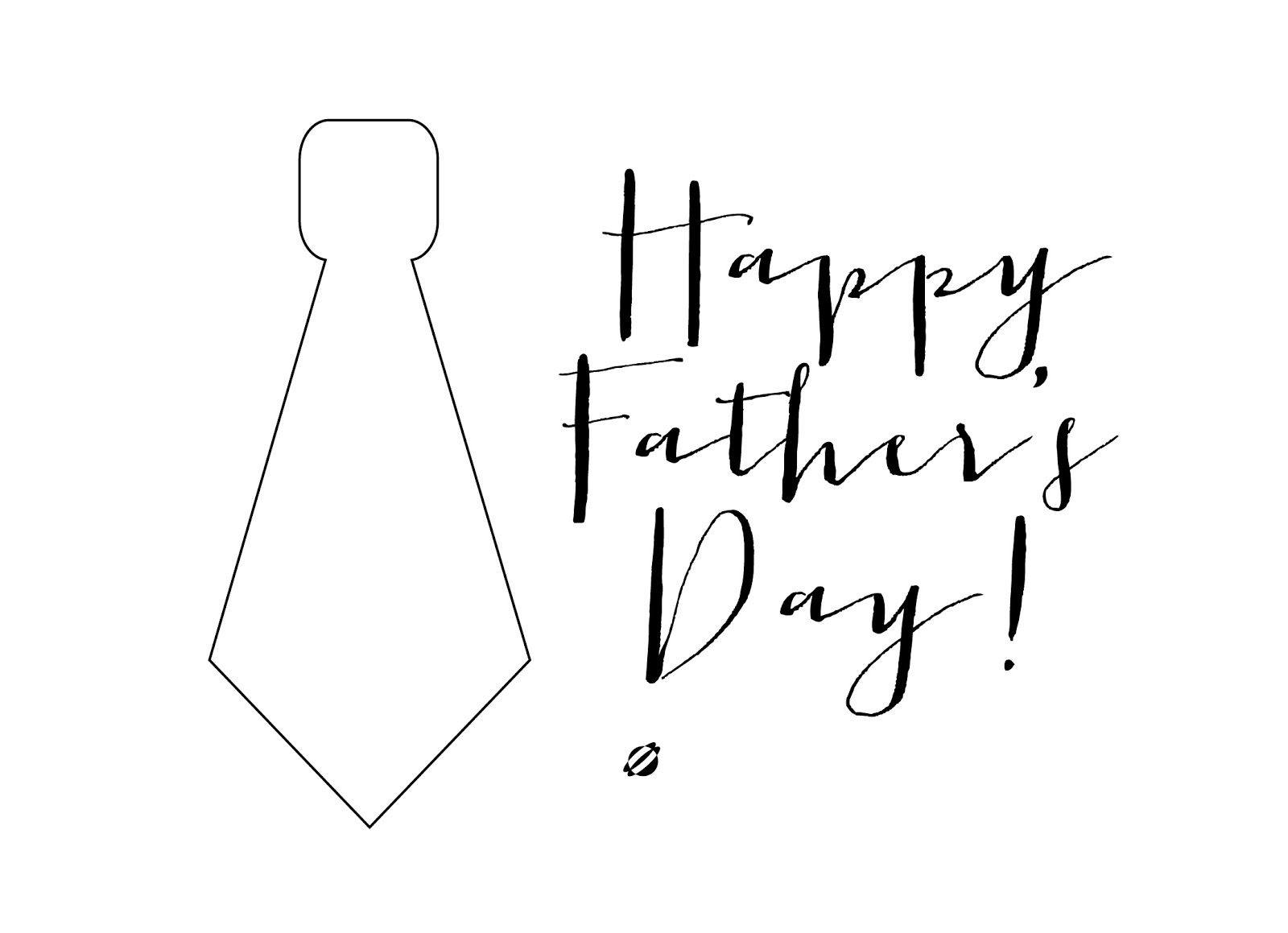 LostBumblebee ©2014 Father's Day Card - FREE PRINTABLES- Personal Use Only