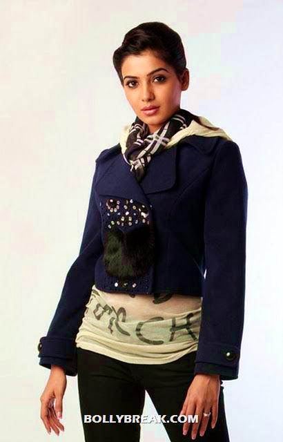 Samantha Photo in winter clothes - Samantha Latest Photo Shoot