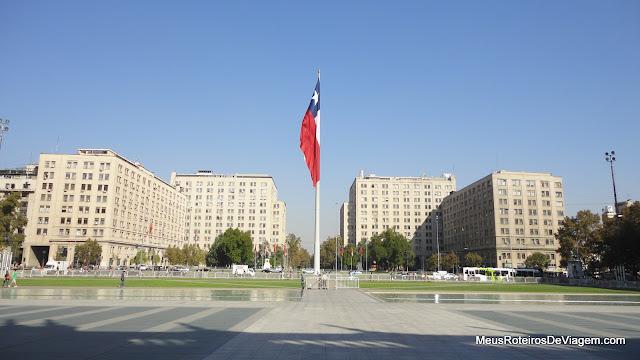 Praça da Cidadania (Plaza de la Ciudadania) - Santiago, Chile