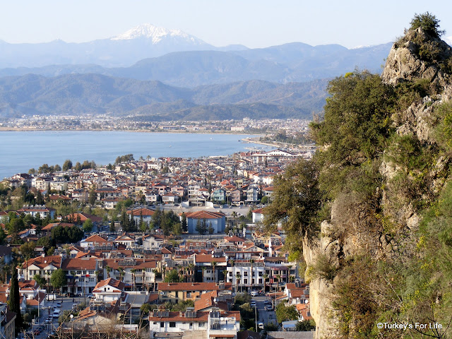 View Of Fethiye From The Rock Tombs
