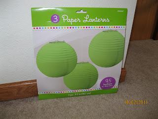 Mrs unger 39 s unbelievable elementary experiences the - Paper lantern paint color ...