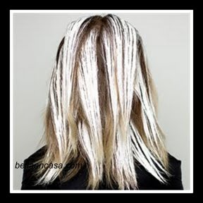 Balayage rubio platino en el cabello con poca raíz, paso a paso !!