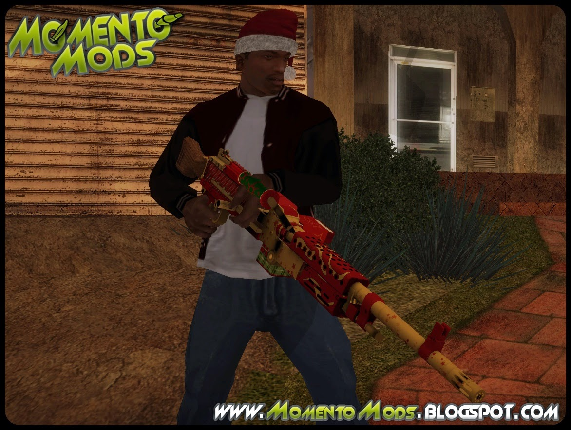 GTA SA - Pack De Armas Do Natal