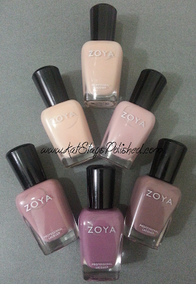Zoya Naturel 2014 Collection
