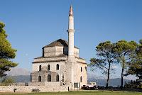 Mausoleum in the citadel in Ioannia Greece