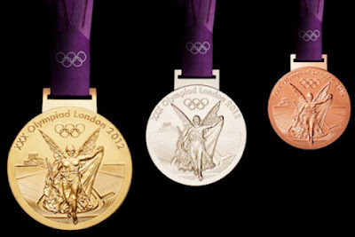 2012 London Olympics medal