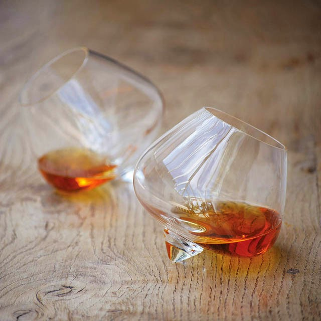 Balloon Cognac Glass Modern Design By