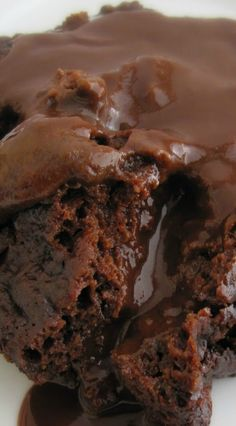 Lava Cake, ή κέϊκ με γέμιση ρευστής σοκολάτας