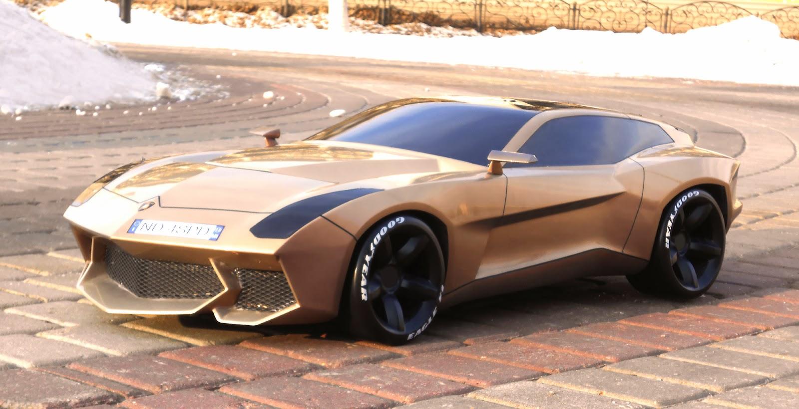 Igor Shitikov 2013 Degree Project 1 5 Sclaed Lamborghini