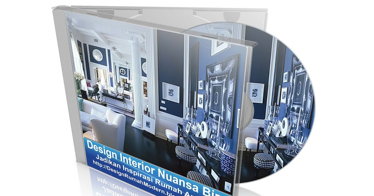 design rumah modern minimalis 2015 design interior biru