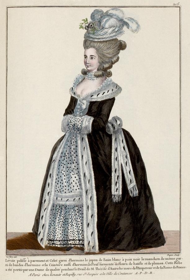 EKDuncan - My Fanciful Muse: 1780-1782 French Fashion Plates