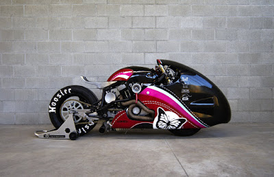 Streemline motorcycle