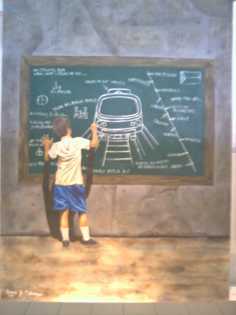 LRT Art - Ang Pundasyon ng Transportasyon