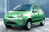 Novo Chery QQ 4 portas verde