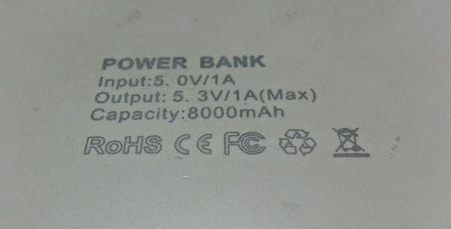 Battery Charging Tips, Powerbank Output