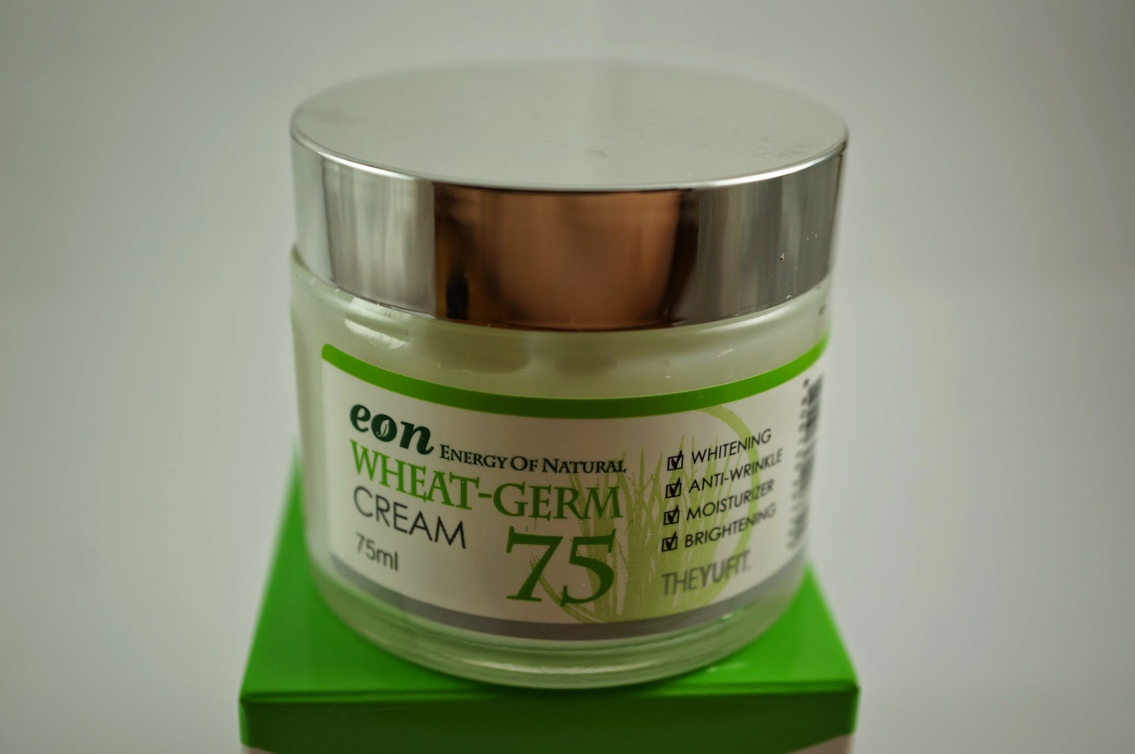 Memebox Global 13 Unboxing Review Yufit Eon Wheat Germ Cream 75
