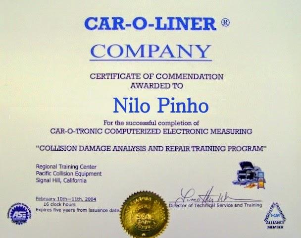 Nossas Certificações