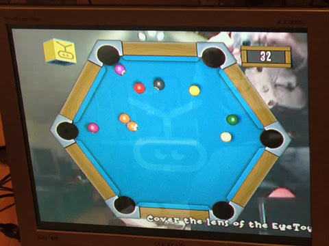 EyeToy: Play2 Pool for GEEK 2014 and SpecialEffect.
