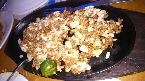 Pork Sisig by Giligan's Restaurant in SM Sta. Rosa