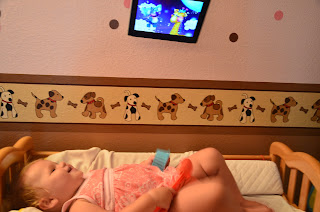 iMagnet over the changing table