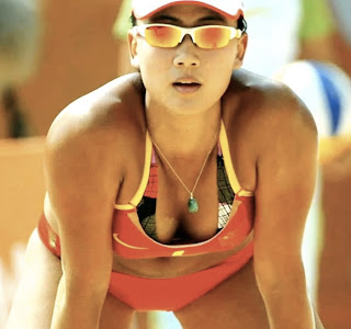 Hot Chinese Athlete Xue Chen