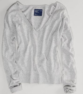 American Eagle Soft V-Neck Sweater